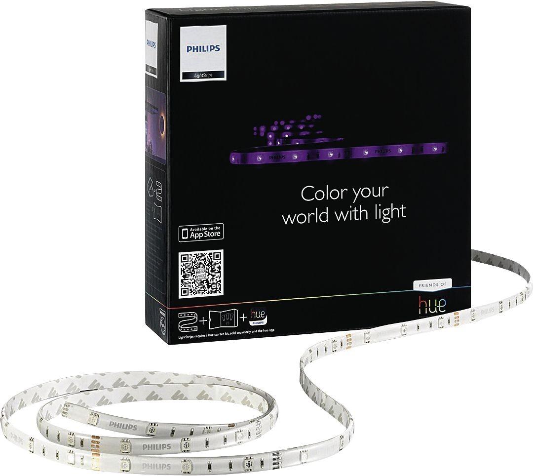 teamsix hue lightstrips led 2m k rzbar rgb 120lm philips hue lampade. Black Bedroom Furniture Sets. Home Design Ideas